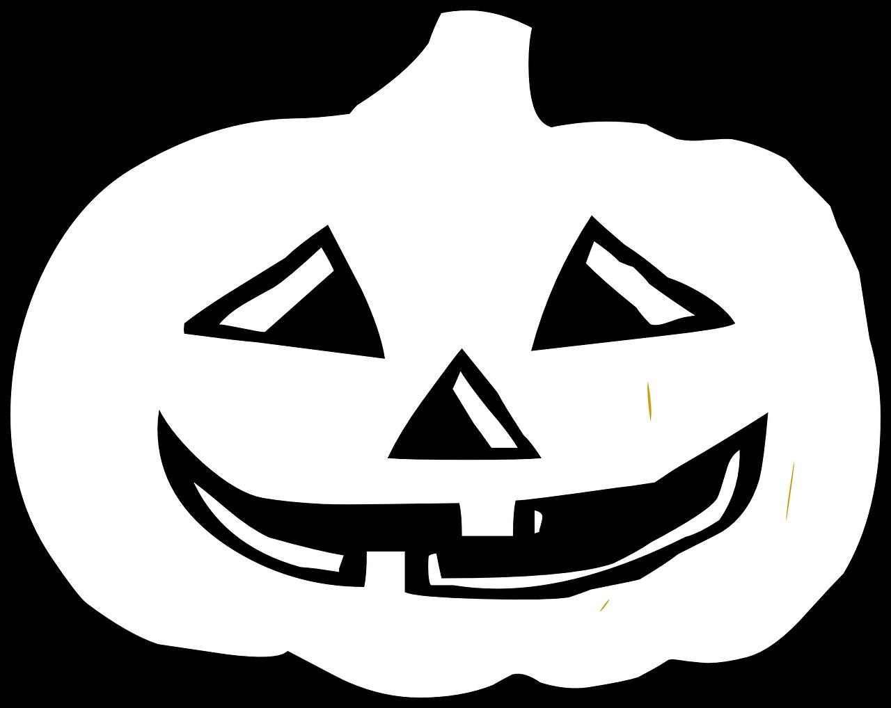 Картинки на хэллоуин черно белые, картинки узбек чего