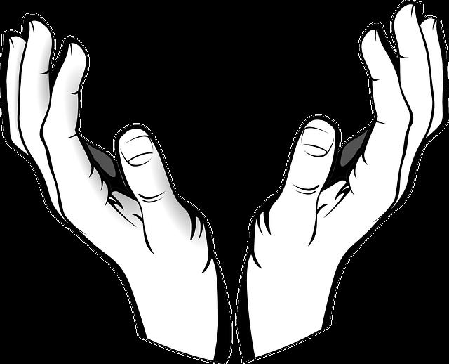 Kostenlose Vektorgrafik: Hände, Offen, Empfang, Halten ...