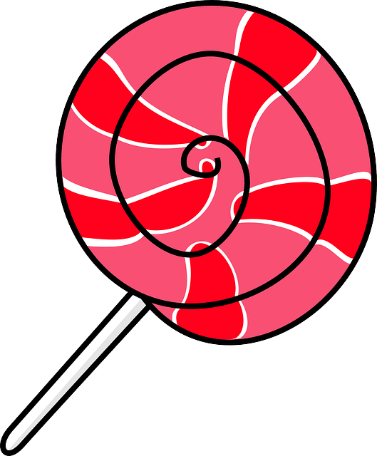 Free Vector Graphic Lolly Pop Candy Red Pink Free
