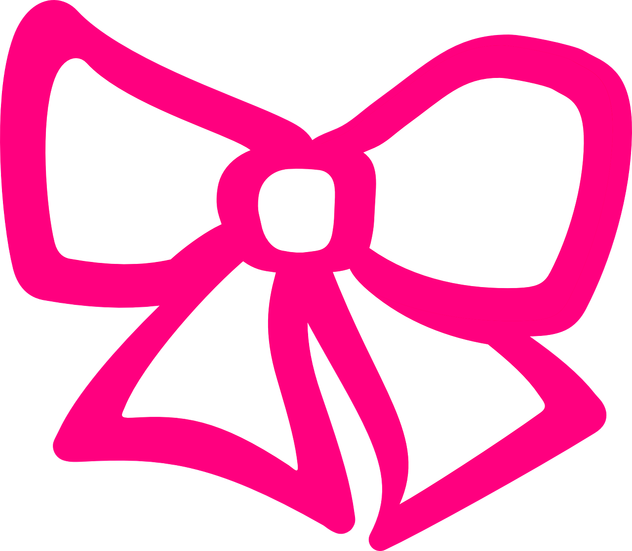 Bow Ribbon Pink   Free vector graphic on Pixabay