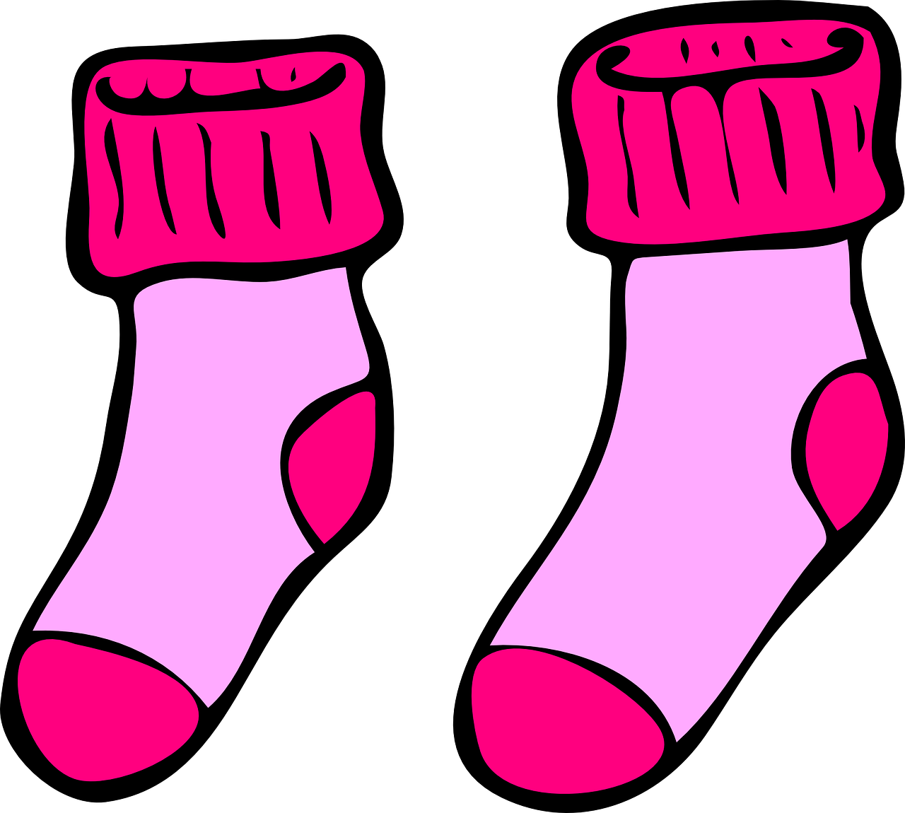 socks cute pink free vector graphic on pixabay https creativecommons org licenses publicdomain