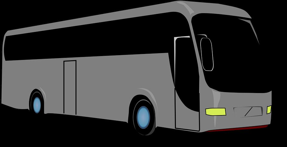 Bus Travel Black Windows 183 Free Vector Graphic On Pixabay
