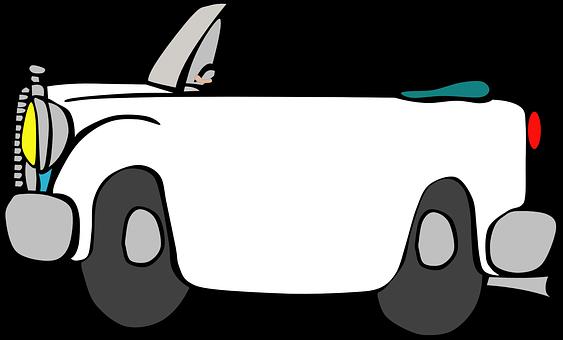 51 Gambar Mobil Kartun Hitam Putih HD Terbaru