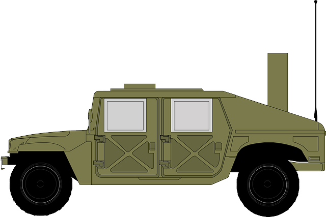 Free Vector Graphic Jeep Hammer Military Green Free