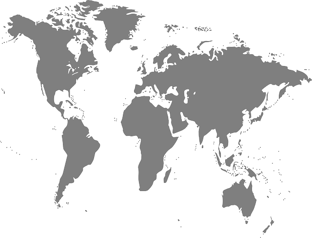Map World Rotated · Free Vector Graphic On Pixabay