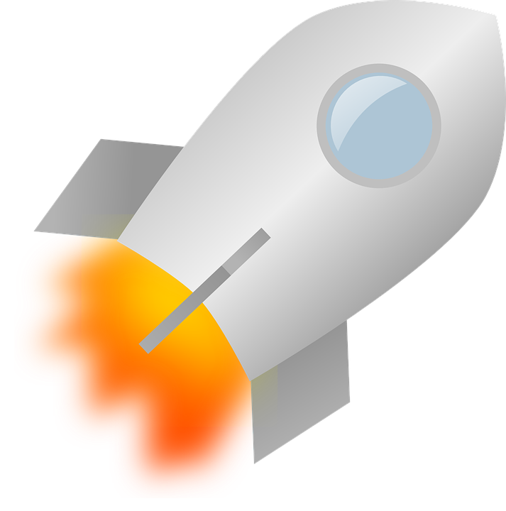 Free vector graphic: Rocket, Fire, Blowing, Speed - Free Image on ...