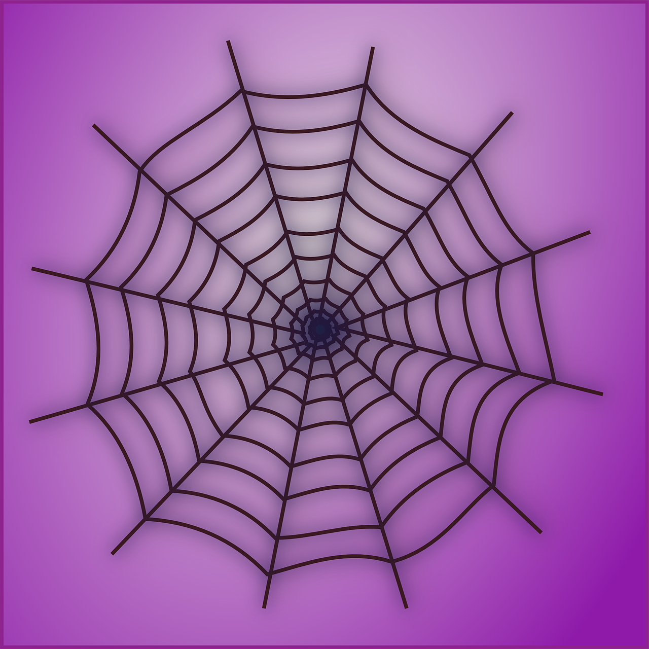 Рисунок паутины фото
