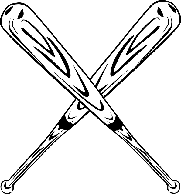 baseball bat  u00b7 free vector graphic on pixabay