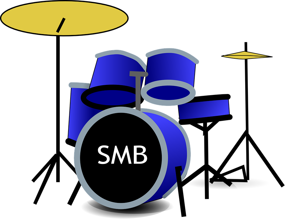 Drum Set Music Band - Free vector graphic on Pixabay