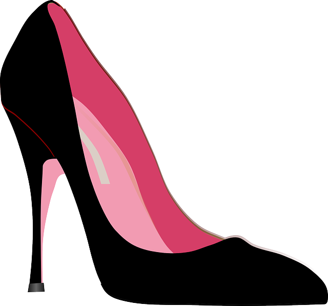 free vector graphic high heels stiletto shoe fashion