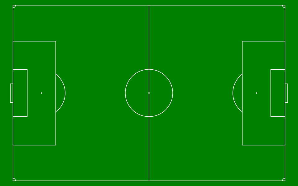 Soccer field diagram green white free vector graphic on pixabay soccer field diagram green white lines sport ccuart Image collections