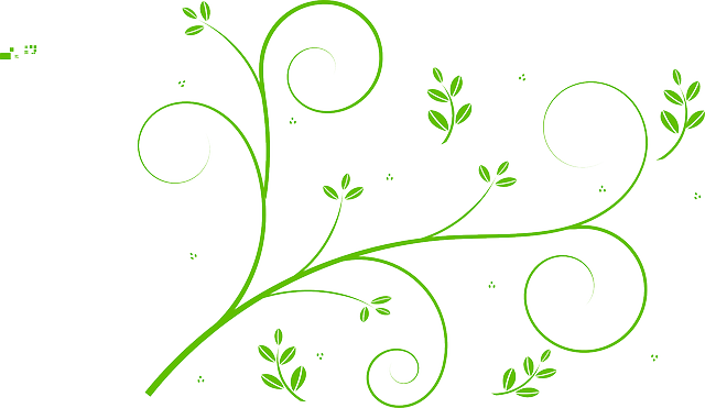 Free vector graphic: Floral Design, Leaves, Swirls - Free ... Vertical Scrolls Clipart