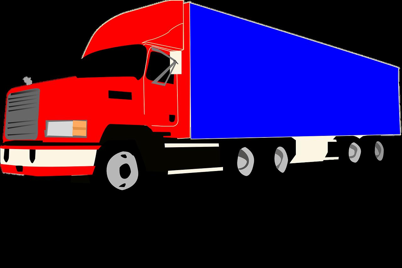 грузовик картинка простая цифровых технологий сделало