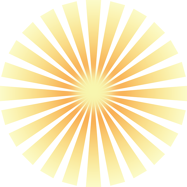 Sun Ray 183 Free Vector Graphic On Pixabay