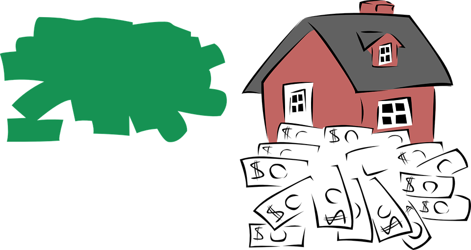 House, Money, Value, Bank, Colorless, Green