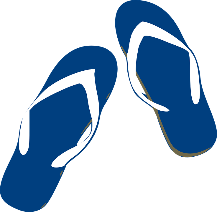 1fbdea553bc6 Thongs Flip Flops Footwear - Free vector graphic on Pixabay
