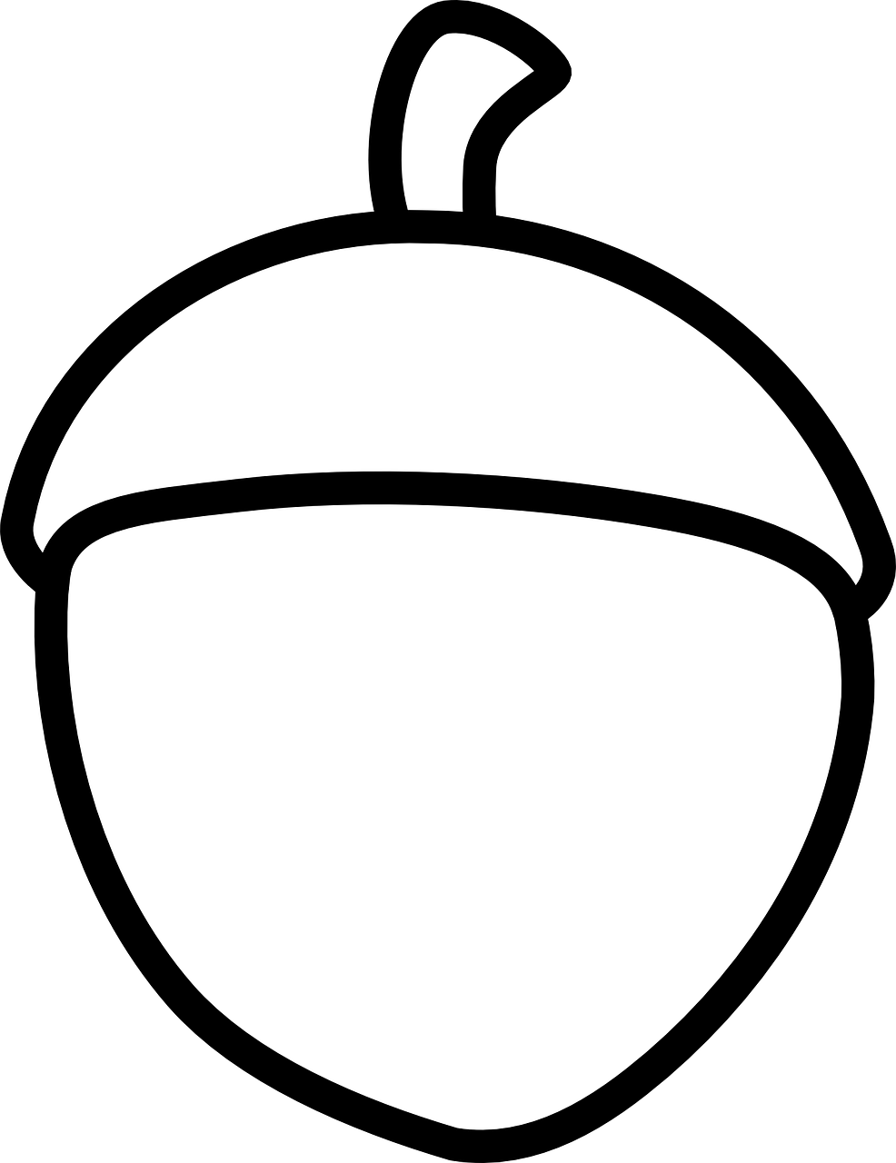 Acorn Sketch Autumn Free Vector Graphic On Pixabay