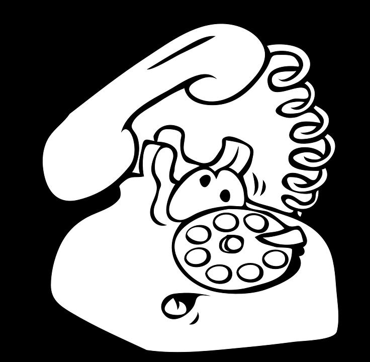 clip art of phone ringing - photo #10