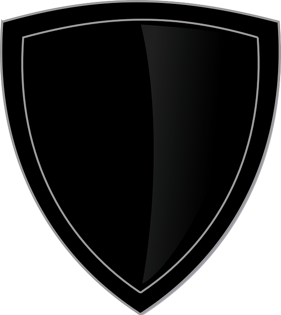 shield logo plain 183 free vector graphic on pixabay