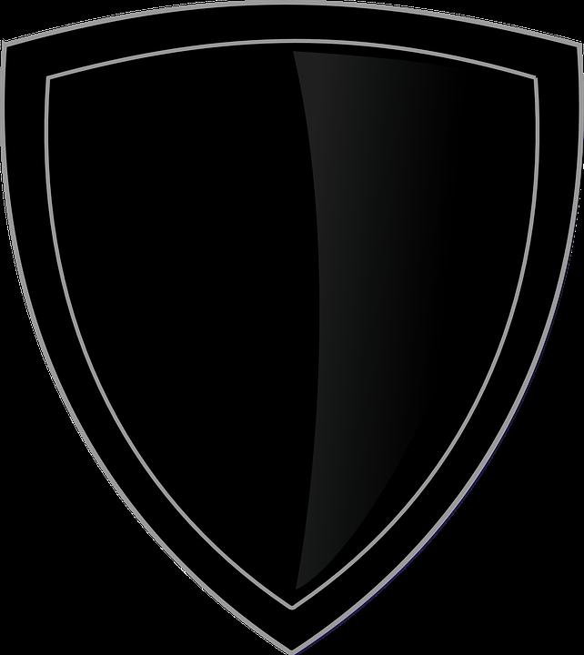 kostenlose vektorgrafik schild logo reiner schwarz