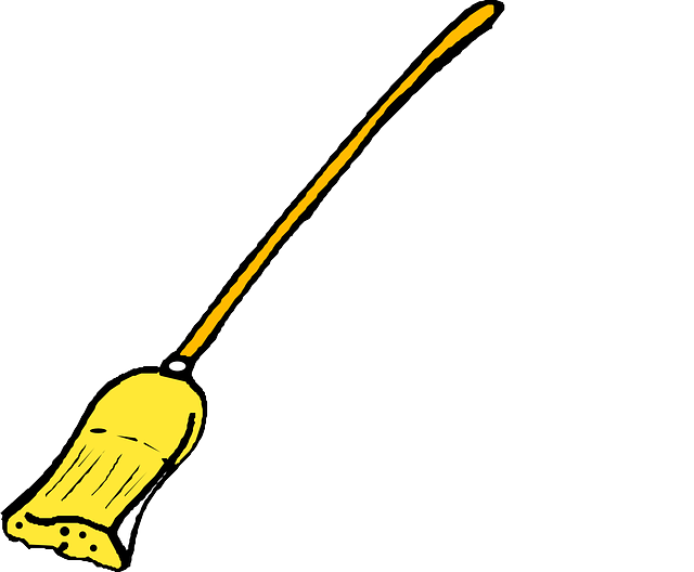 Free Vector Graphic: Broom, Broomstick, Wipe, Cleaning