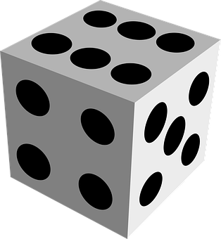 Dice, Cube, Gamble, Game Of Luck, Game