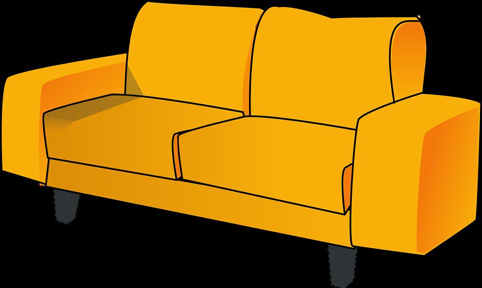 Нарисованные картинки с диванами