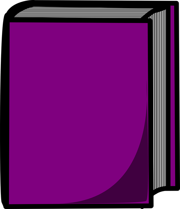 Book Closed Purple 183 Free Vector Graphic On Pixabay