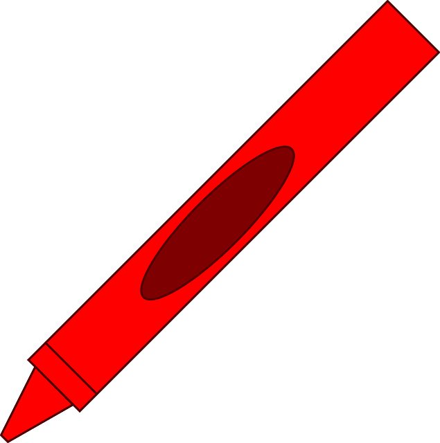 free vector graphic pen  crayon  art  red free image on red crayon clipart black and white Brown Crayon Clip Art