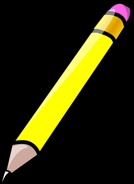Pensil Penghapus Karet Gambar Vektor Gratis Di Pixabay