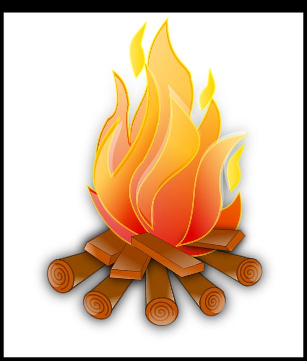 kostenlose vektorgrafik feuer  lagerfeuer  brennen  flammen kostenloses bild auf pixabay 307592 campfire clipart images campfire clip art free