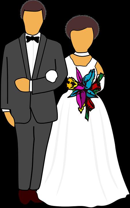 Koleksi 8500  Gambar Animasi Orang Menikah  Paling Keren