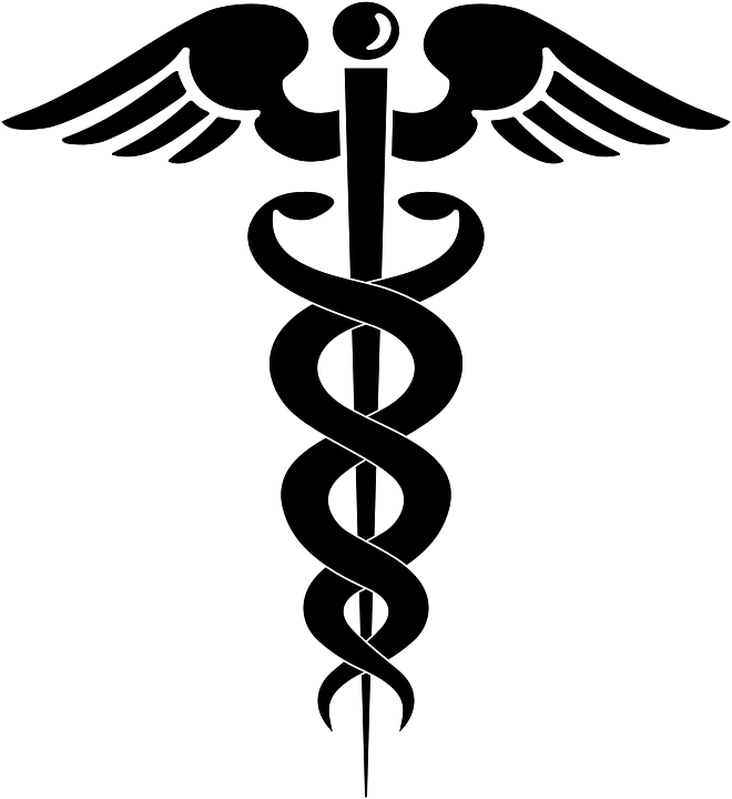 Aesculapian Staff Rod Of Asclepius Free Vector Graphic On Pixabay