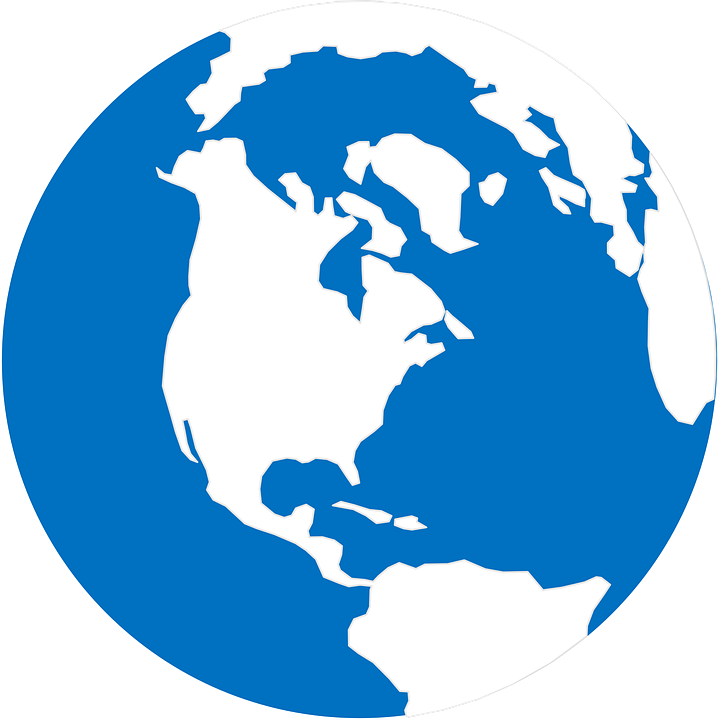 Globe Earth Map · Free vector graphic on Pixabay World Logo Vector Png