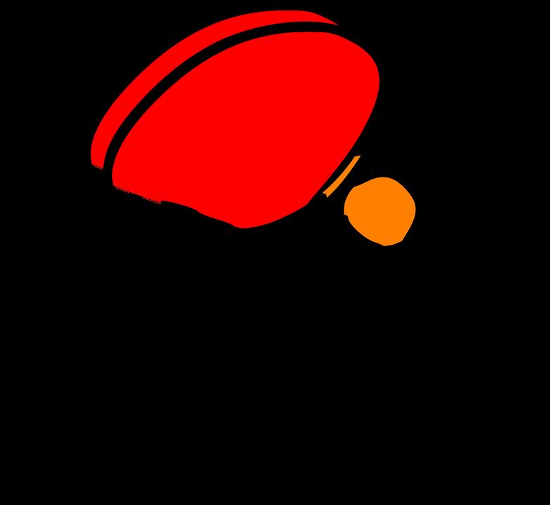 Tennis de table pingpong raquette images vectorielles - Colle pour raquette de tennis de table ...