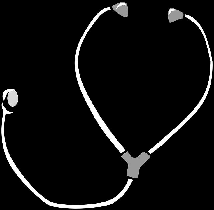 Free Vector Graphic Stethoscope Diagnostics Equipment