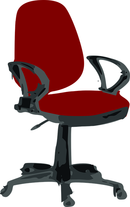 Comfortable for Office Chair Clip Art