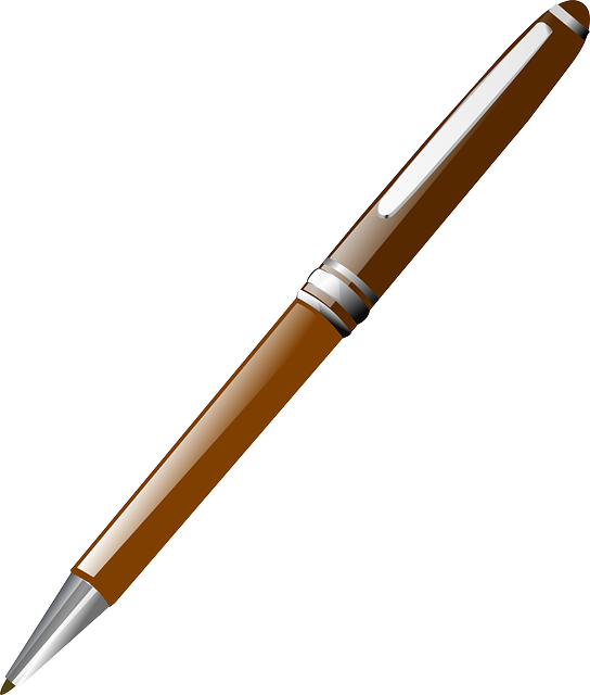 Free Vector Graphic Pen Pencil Style Office Brown