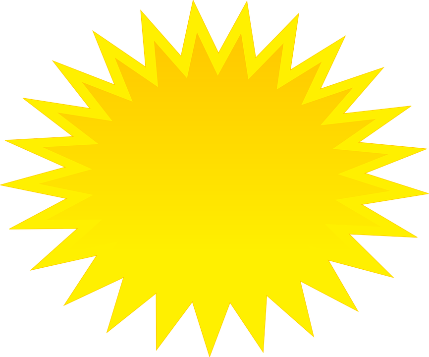 Free vector graphic sun ball shine yellow cartoon free image on pixaba - Sol en verre transparent ...