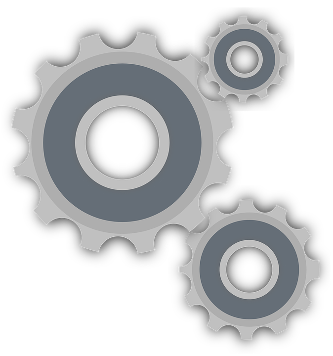 Gear Cog Wheel 183 Free Vector Graphic On Pixabay