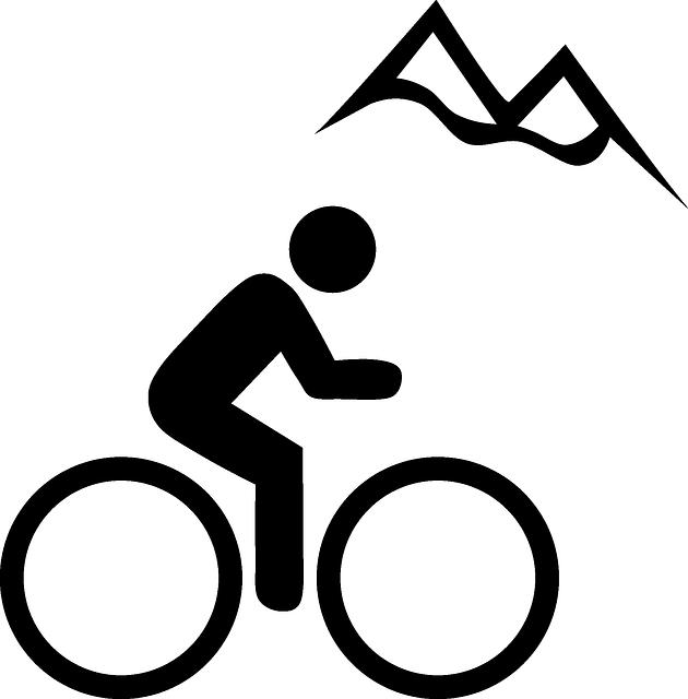 Kostenlose vektorgrafik berg fahrrad sport piktogramm - Ski alpin dessin ...