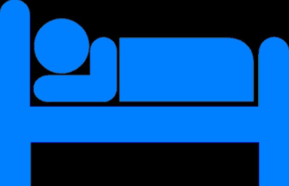 Bett Icon Schlafen Kostenlose Vektorgrafik Auf Pixabay