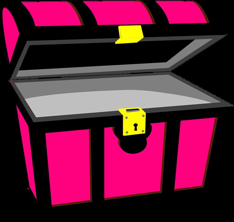 pirate treasure chest rich free vector graphic on pixabay rh pixabay com treasure chest vector free treasure chest vector png