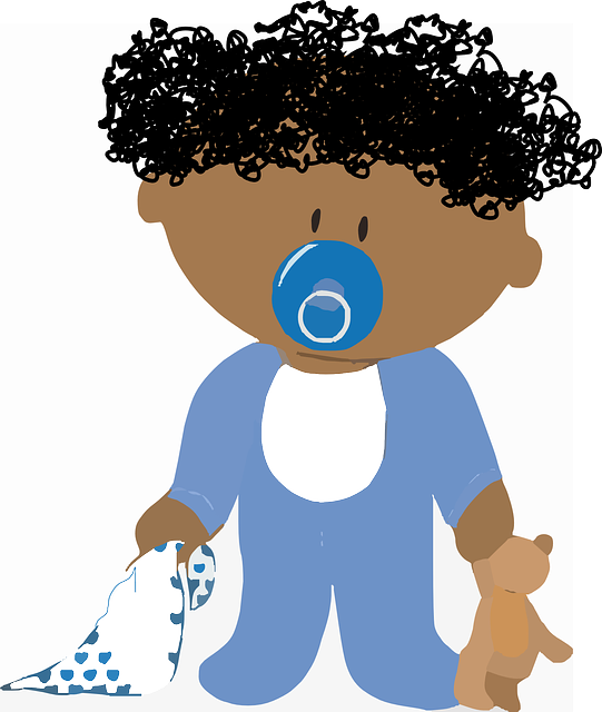 Free Vector Graphic: Baby, Kid, Sleep, Soother, Dummy