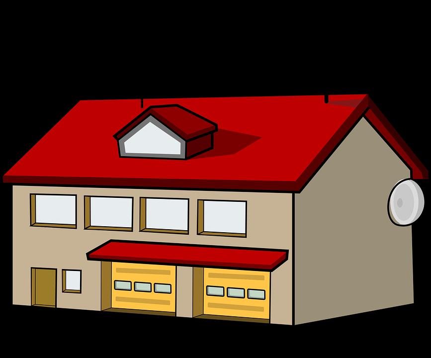 Image vectorielle gratuite caserne de pompiers antenne for Antenne cellulaire maison