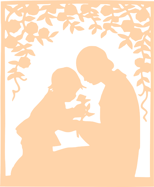 Love The Mother Child Silhouette: Silhouette Scissor-Type Mother · Free Vector Graphic On