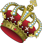 crown, cross, jewelry