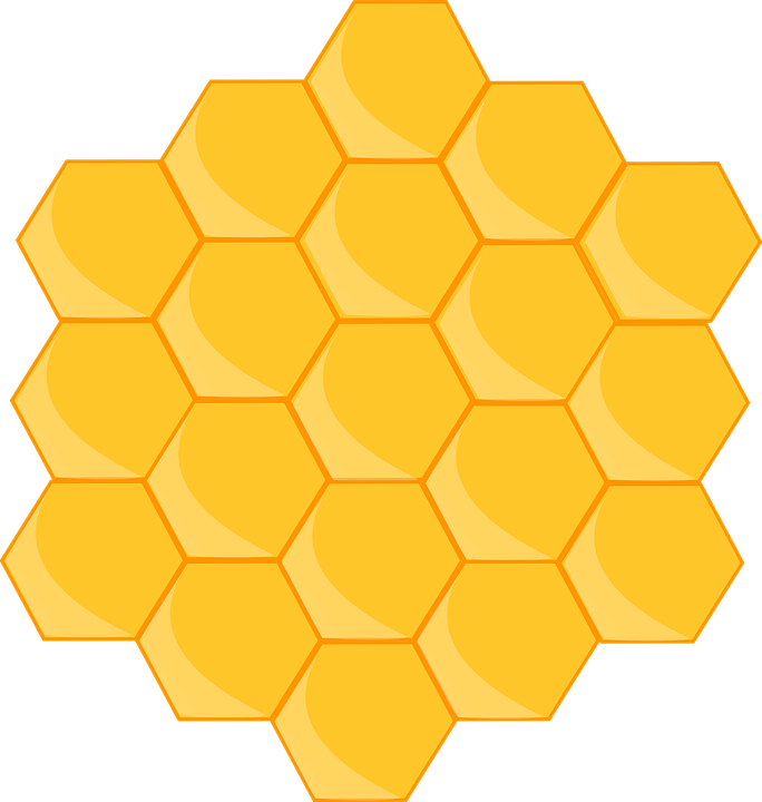 free vector graphic honeycomb  bee  shape  hexagon free beehive clipart and images beehive clipart and images