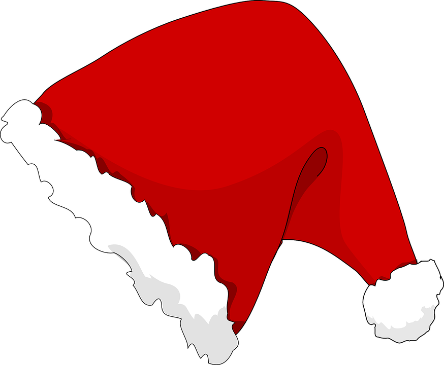 Hat christmas slanted · free vector graphic on pixabay