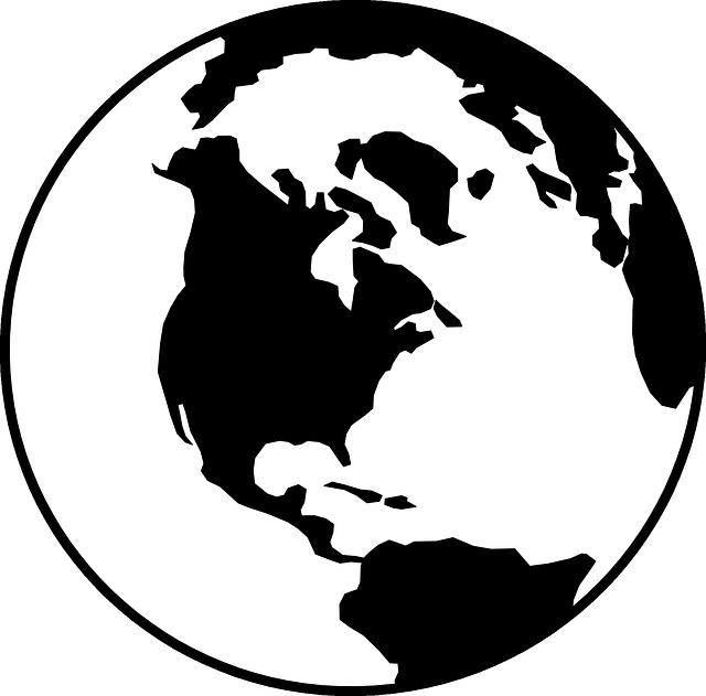 Globe World Earth · Free vector graphic on Pixabay